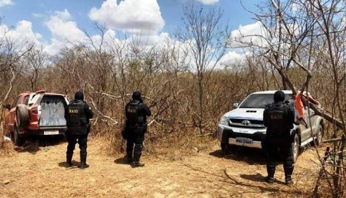 """Polícia encontra em Morada Nova veículo """"blindado"""" para ataque a carros-fortes"""