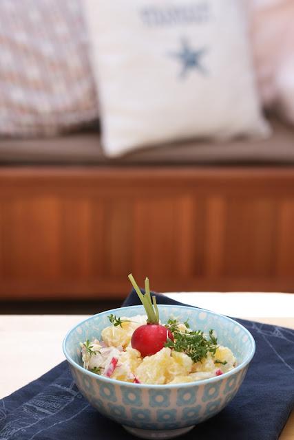 Kartoffelsalat nach Frank Rosin super lecker mit Mayonnaise und nix für die schlanke Linie