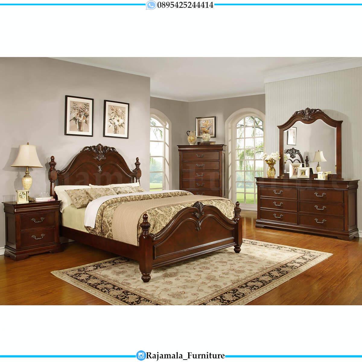 Tempat Tidur Minimalis Elegant SImple Design Jepara RM-0689