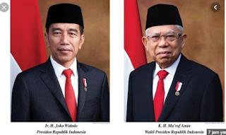 Daftar Nama Menteri Kabinet Jokowi Periode 2019-2024