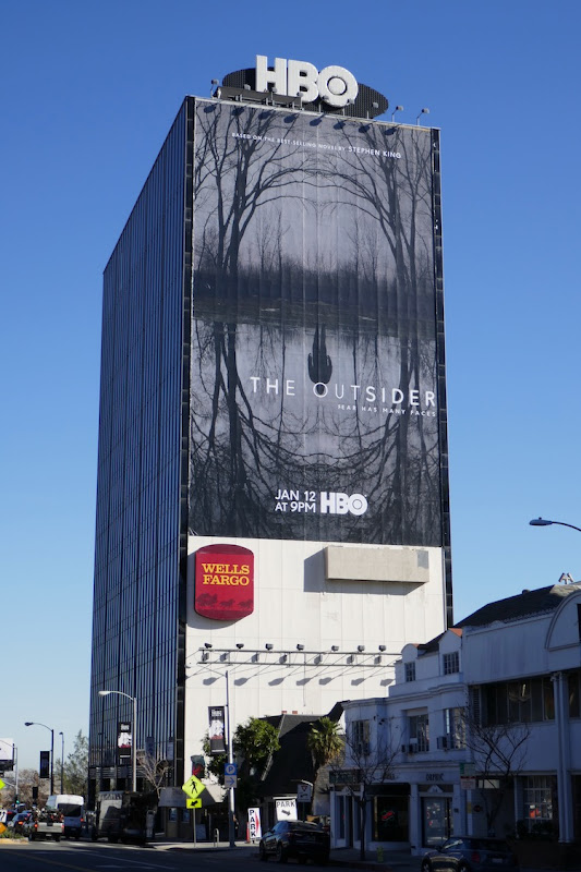 Outsider giant HBO series billboard