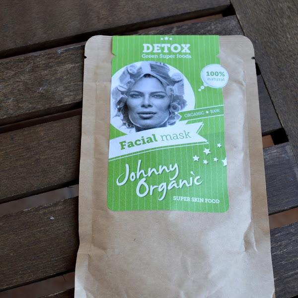 Na testu: Johnny Organic, DETOX piling & maska za obraz