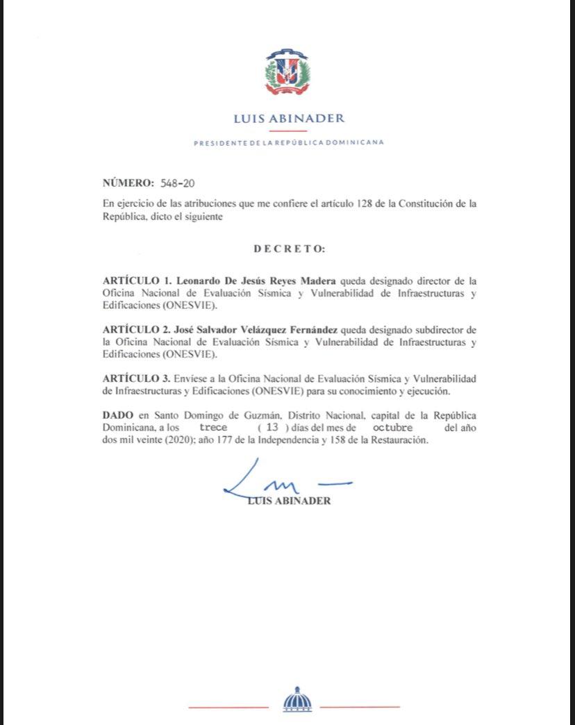 decreto 548-20