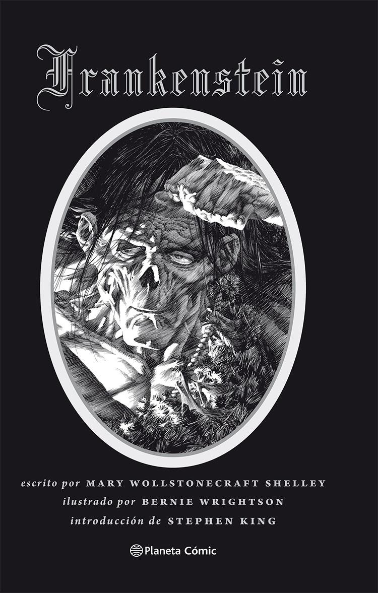 Portada Libro Ilustrado Frankenstein Bernie Wrightson