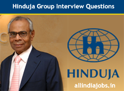 Hinduja Group Interview Questions