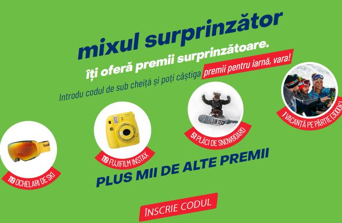Concurs Premiiradler.ro - Mixul surprinzator iti ofera premii surprinzatoare - bere - promotie - 2020 - vacanta - premii - castiga.net