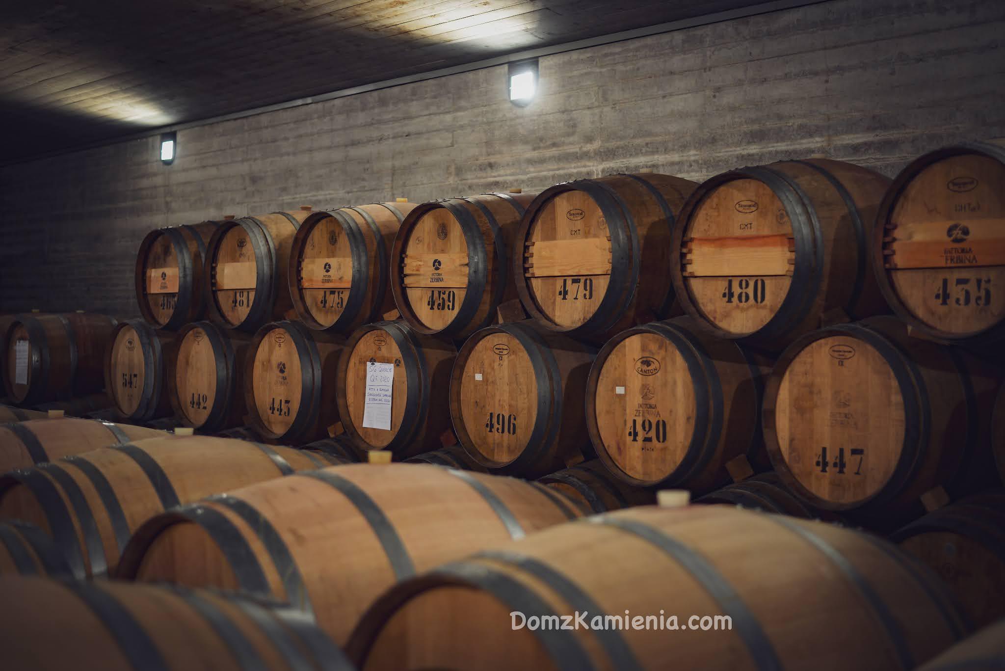 Degustacja w winnicy - Dom z Kamienia, Zerbina Marzeno