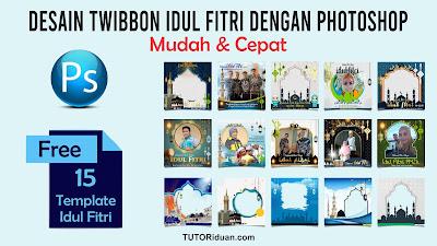 Twibbon Idul Fitri PSD