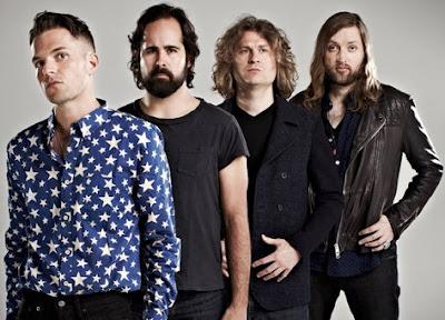 Foto del grupo The Killers en la madurez