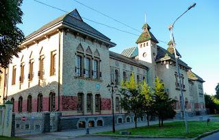 Полтава. Полтавский краеведческий музей имени Василия Кричевского