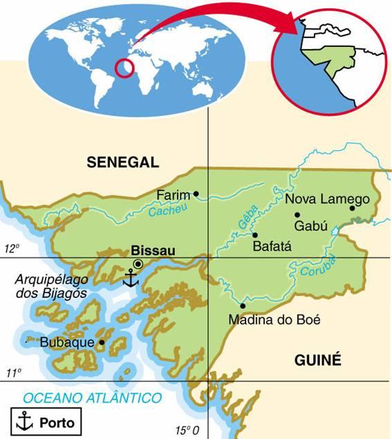 Guiné-Bissau, Aspectos Geográficos e Socioeconômicos de Guiné-Bissau