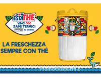 Logo ''Vinci lo zaino termico Estathè 2020'' : vinci 100 premi al giorno ( 2.500 in totale)