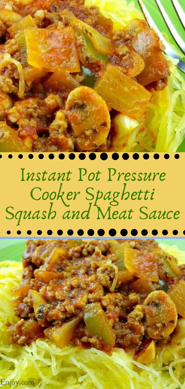 Healthy Recipes | Instant Pot Pressure Cooker Spaghetti Squash and Meat Sauce, Healthy Recipes For Weight Loss, Healthy Recipes Easy, Healthy Recipes Dinner, Healthy Recipes Pasta, Healthy Recipes On A Budget, Healthy Recipes Breakfast, Healthy Recipes For Picky Eaters, Healthy Recipes Desserts, Healthy Recipes Clean, Healthy Recipes Snacks, Healthy Recipes Low Carb, Healthy Recipes Meal Prep, Healthy Recipes Vegetarian, Healthy Recipes Lunch, Healthy Recipes For Kids, Healthy Recipes Crock Pot, Healthy Recipes Videos, Healthy Recipes Weightloss, Healthy Recipes Chicken, Healthy Recipes Heart, Healthy Recipes For One, Healthy Recipes For Diabetics, Healthy Recipes Smoothies, Healthy Recipes For Two, Healthy Recipes Simple, Healthy Recipes For Teens, Healthy Recipes Protein, Healthy Recipes Steak, Healthy Recipes For School, Healthy Recipes Slimming World, Healthy Recipes Fitness, Healthy Recipes Baking, Healthy Recipes Sweet, Healthy Recipes Indian, Healthy Recipes Summer, Healthy Recipes Vegetables, Healthy Recipes Diet, Healthy Recipes No Meat, Healthy Recipes Asian, Healthy Recipes On The Go, Healthy Recipes Fast, Healthy Recipes Ground Turkey, Healthy Recipes Rice, Healthy Recipes Mexican, Healthy Recipes Fruit, Healthy Recipes Tuna, Healthy Recipes Sides, Healthy Recipes Zucchini, Healthy Recipes Broccoli, Healthy Recipes Spinach,  #healthyrecipes #recipes #food #appetizers #dinner #instantpot #cooker #spaghetty #squash #meat #sauce