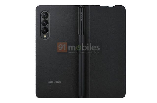 تؤكد حافظة Galaxy Z Fold3 الرسمية دعم قلم S Pen