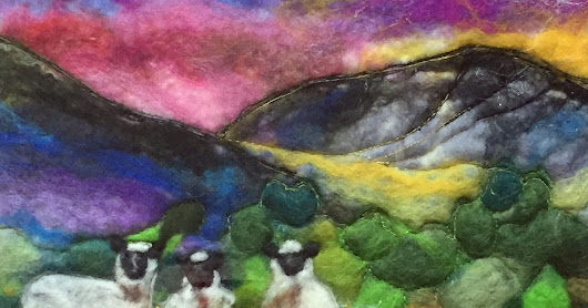 January 2017 Textile Picture of Brecon