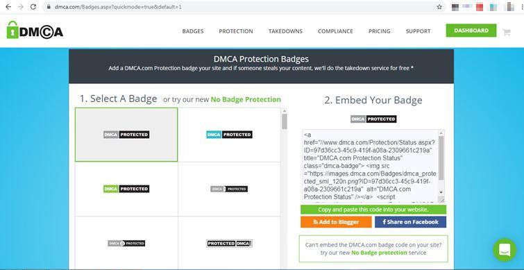dmca-badge-code