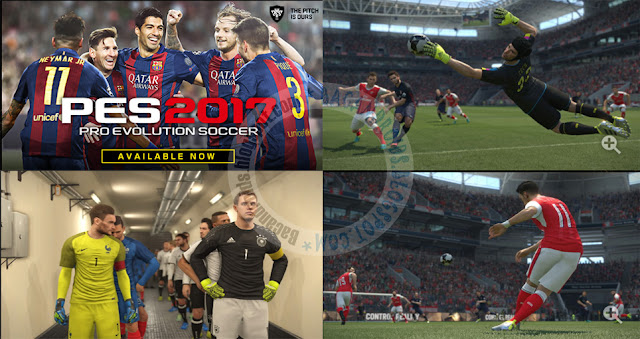Pro evolution Soccer 2017 (PES) Apk Data Obb Terbaru For Android HD