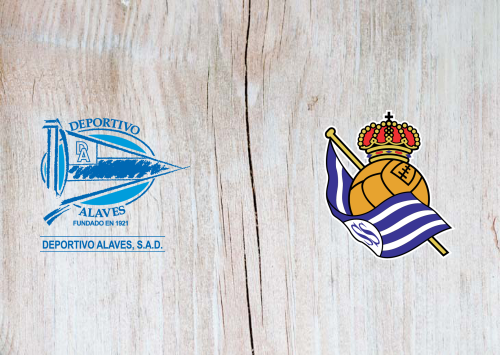 Deportivo Alavés  vs Real Sociedad -Highlights 18 June 2020