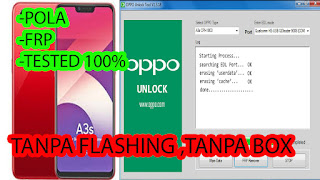Cara Flashing Oppo A3s CPH1803