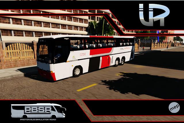 Skin Proton Bus Simulator Road - GV 1150 MB 0400 RSD Viação Real Expresso