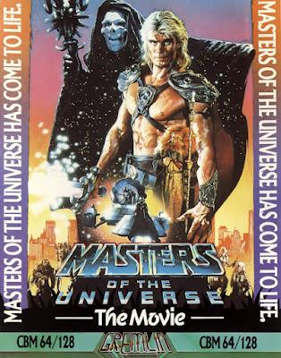 Portada videojuego Masters of the Universe - The Movie