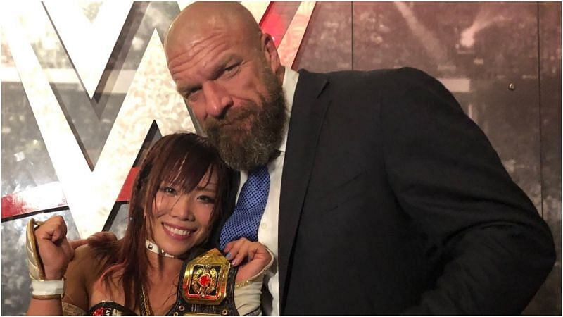 Triple H shares a heartfelt message for Kairi Sane after her WWE departure