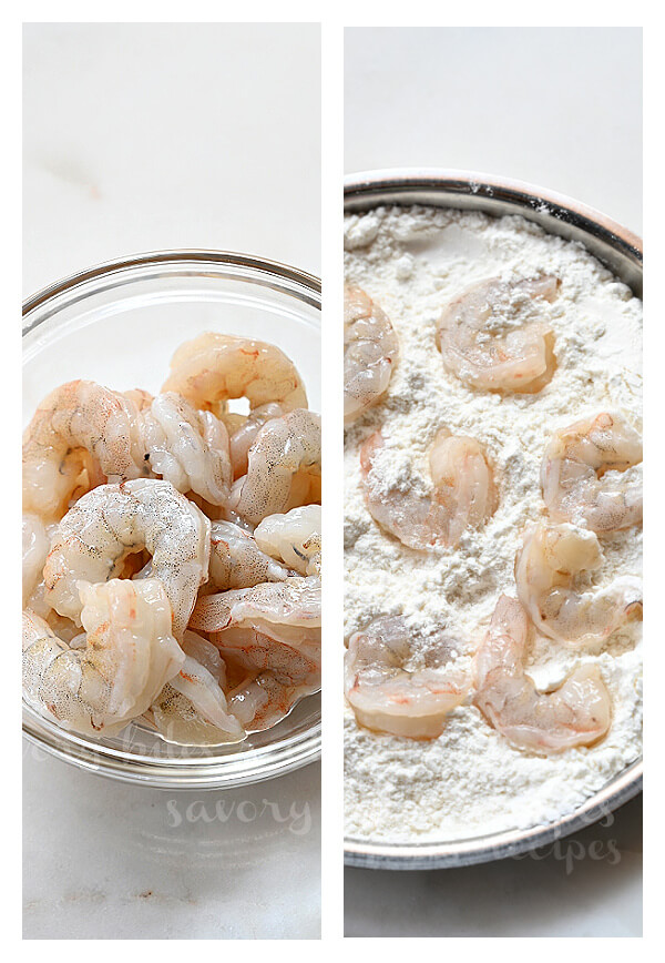 steps to make the bang bang shrimp