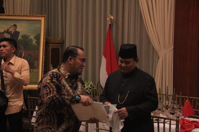 Dahnil Azhar: Prabowo Tegas Menolak UU KPK, Netizen: Prabowo Kemana Saja?