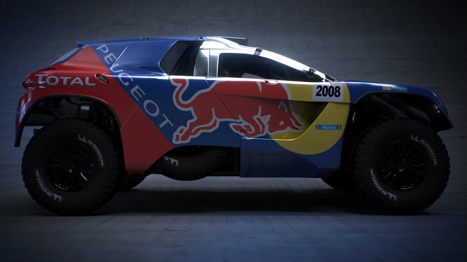 P 20151202 00381 News Το PEUGEOT 2008DKR στα χρώματα του πολέμου! Peugeot, Peugeot 2008 DKR, Peugeot 2008 DKR16, Rally Dakar
