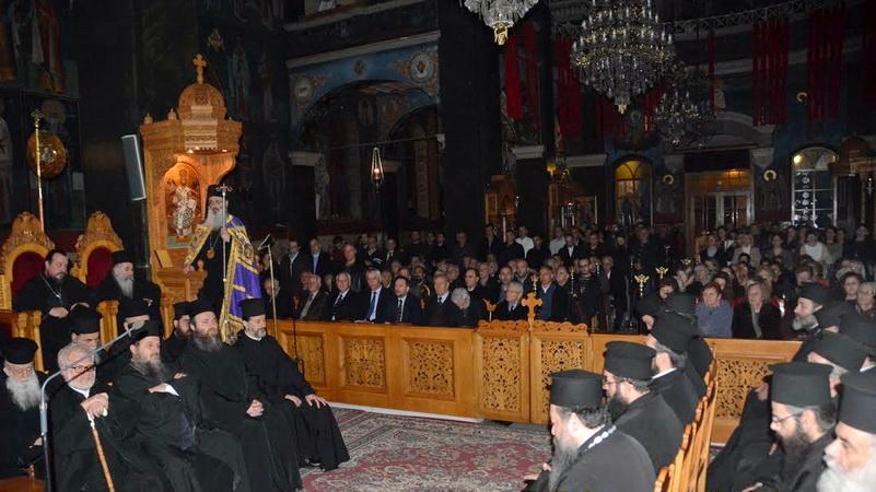 Πλήθος πιστών στον Α' Κατανυκτικό Εσπερινό στο Μητροπολιτικό Ναό Αγίου Νικολάου Αλεξανδρούπολης