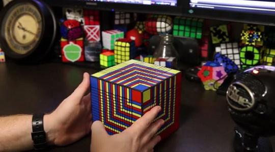 кубик рубика 17х17х17