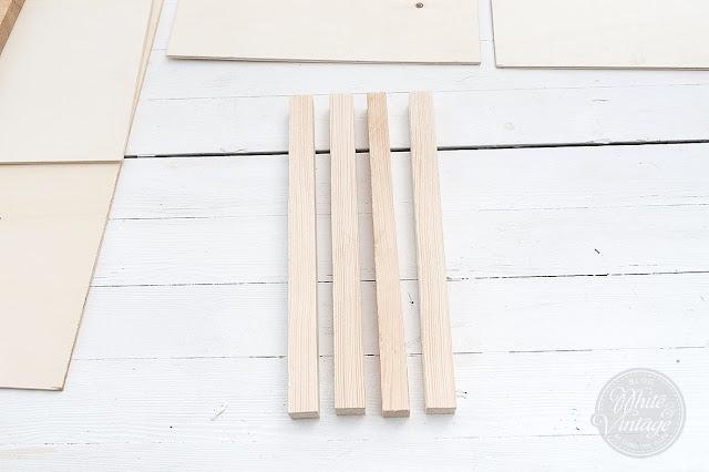 Holzkiste mit Rädern selber machen