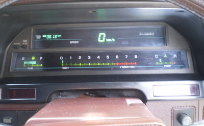 Speedometer Digital Toyota Cressida