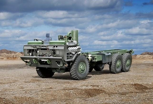 Автомобільне шасі TATRA FORCE (T 815-7)