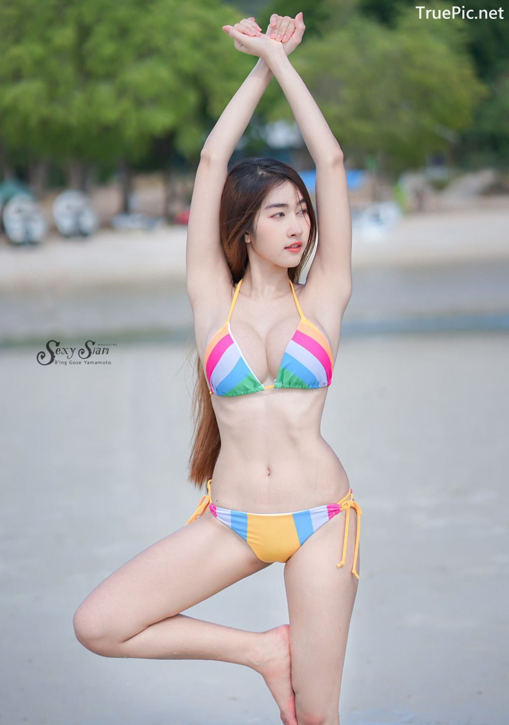 Image-Thailand-Hot-Model-Nisa-Khamarat-Bikini-For-Songkran-Festival-TruePic.net- Picture-6