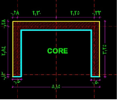 Core in AutoCad