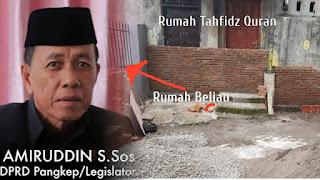 Kelakuan Anggota DPRD dari PAN, Anak Tahfiz Quran Diancam Parang, Jalan ke Masjid Ditutup