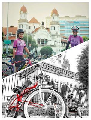 sepeda lawang sewu semarang