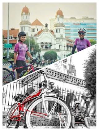 6 Tempat Viral Gowes Sepeda di kota Semarang