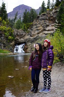 Running Eagle Falls, Glacier National Park