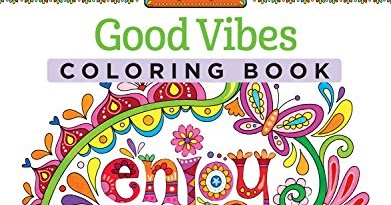 Good Vibes Coloring Book Coloring Activity Book Get Here Andy Chills