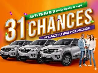 Promoção Pague Menos 2020 Aniversário 31 Anos Supermercados - 31 Prêmios Carros 0KM
