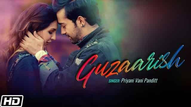 गुज़ारिश Guzaarish Hindi Lyrics - Priyani Vani Panditt