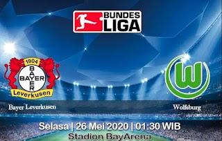 Prediksi Bayer Leverkusen vs Wolfsburg 26 Mei 2020