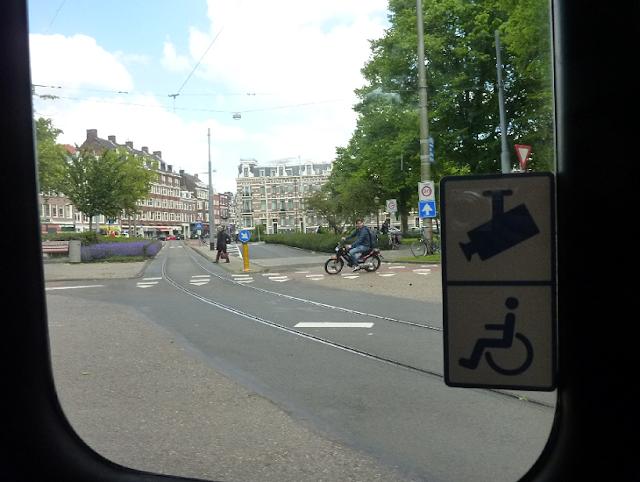 Transporte público para deficientes físicos em Amsterdã