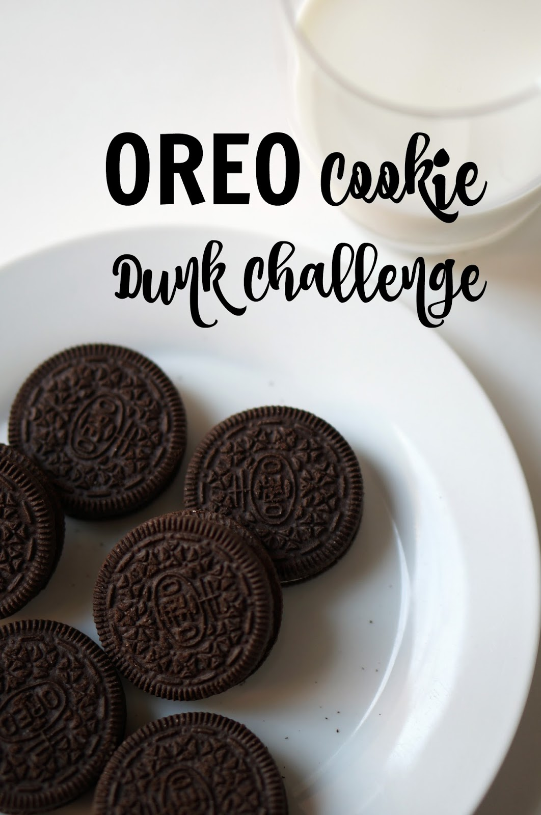 Rebecca Lately OREO Cookie Dunk Challenge