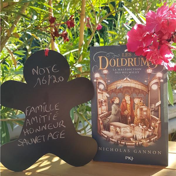 Les Doldrums, tome 2 : La malédiction des Hemsley de Nicholas Gannon