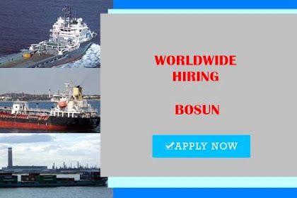 Seaman Jobs Rank Bosun