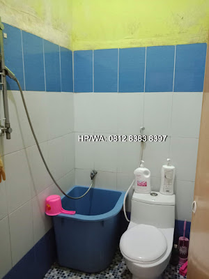 Kamar mandi Rumah murah minimalis 620 Juta Di Komplek TPI Ring Road Medan Sumatera Utara