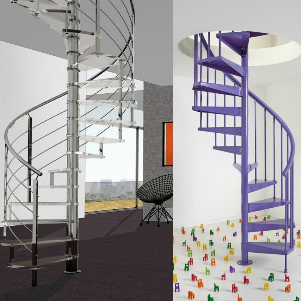 Mcompany style c mo decorar con escaleras de caracol - Escaleras de caracol economicas ...